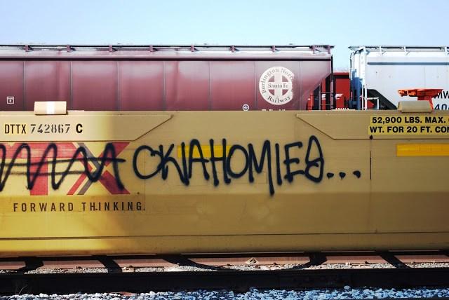OklahomaHOMIES on a Train