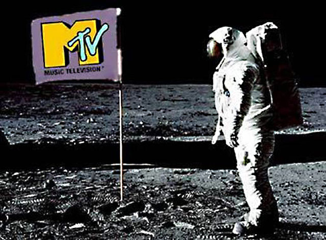 MTV Neil Armstrong Man on the moon