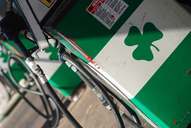 Green Shamrock Gas Station