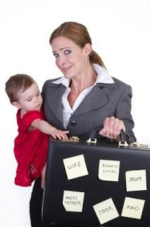 Working Professional Mom Multitasking Hell