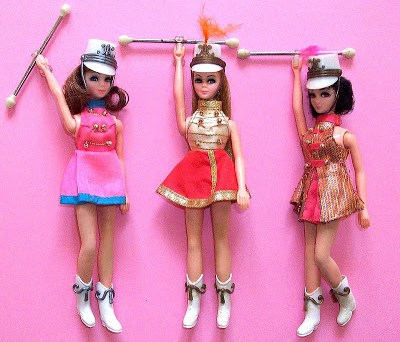 Topper Dawn Majorette Dolls