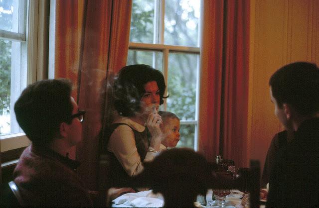 Smoking in front of children
