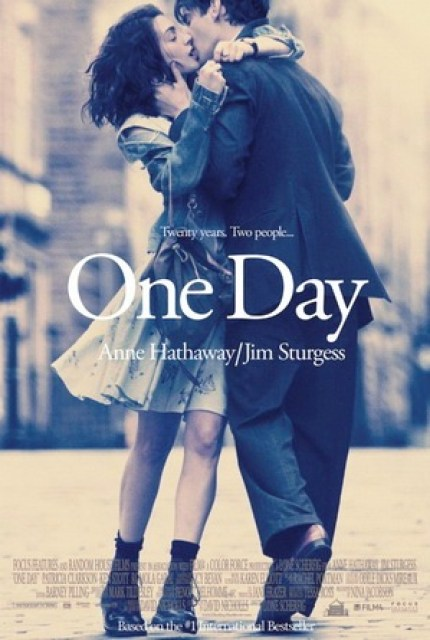 One Day Movie Poster with Anne Hathaway