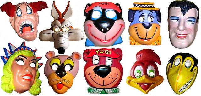 Vintage Halloween Masks Ben Cooper