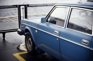 Old  Volvo Blue