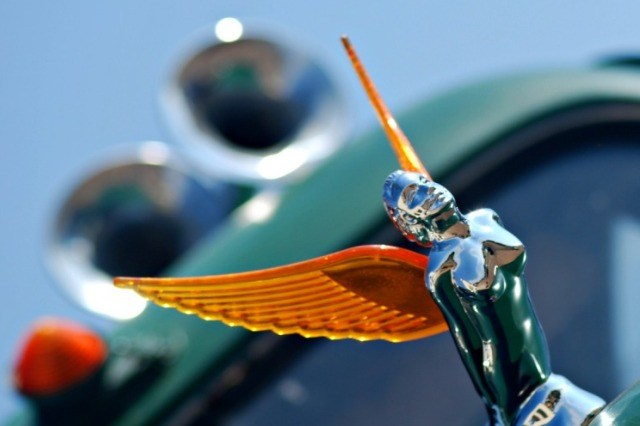 Hood Ornament on Route 66