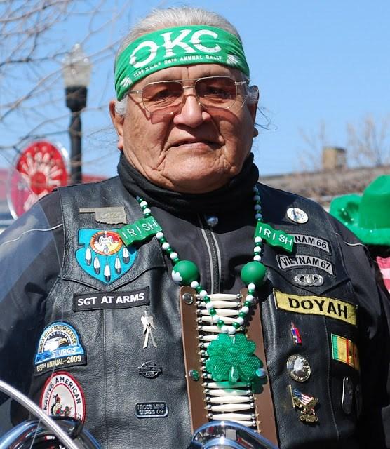 Native America/Irish American Culture in St. Patrick's Day Parade