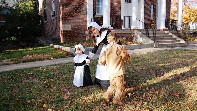 Pilgrim and Indian Costumes