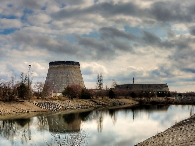 Chernobyl Reactor in the Exclusion Zone