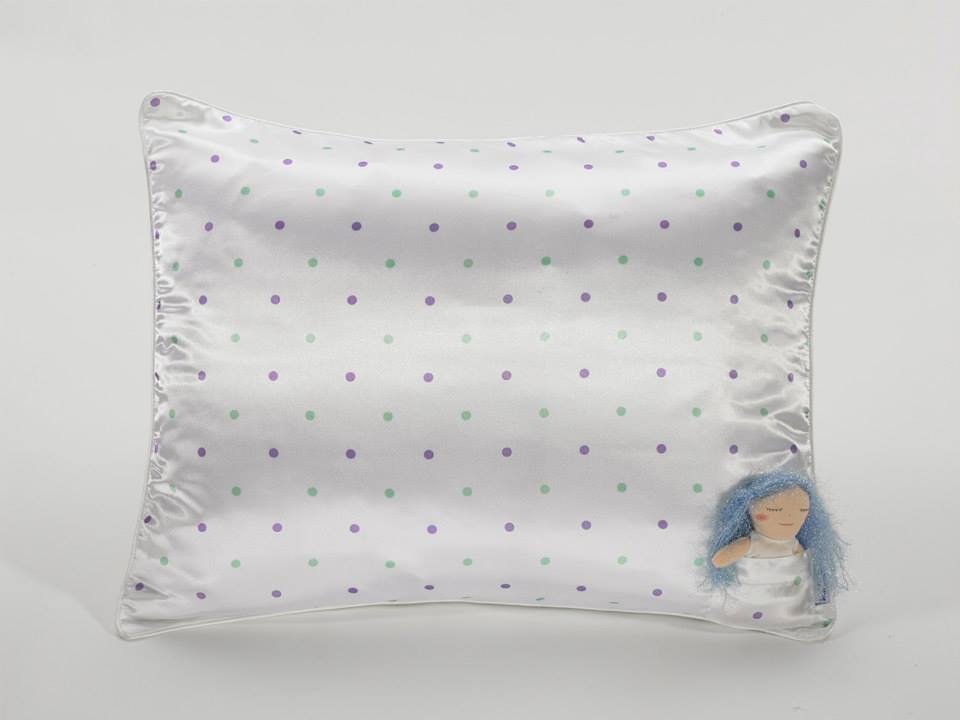 hairy fairy satin pillow case doll