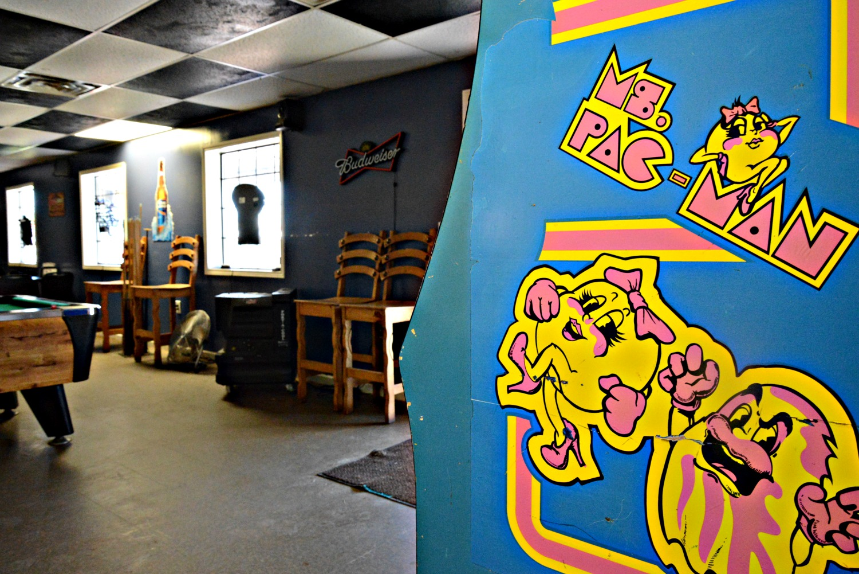 Old Ms Pac Man Arcade Game