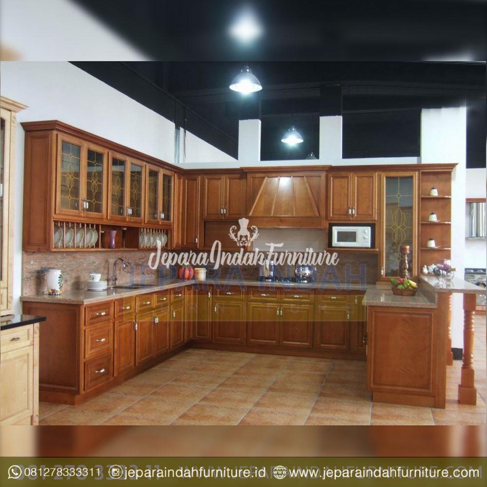 Lemari Dapur Kitchen Cabinet Almari Dapur By Jepara