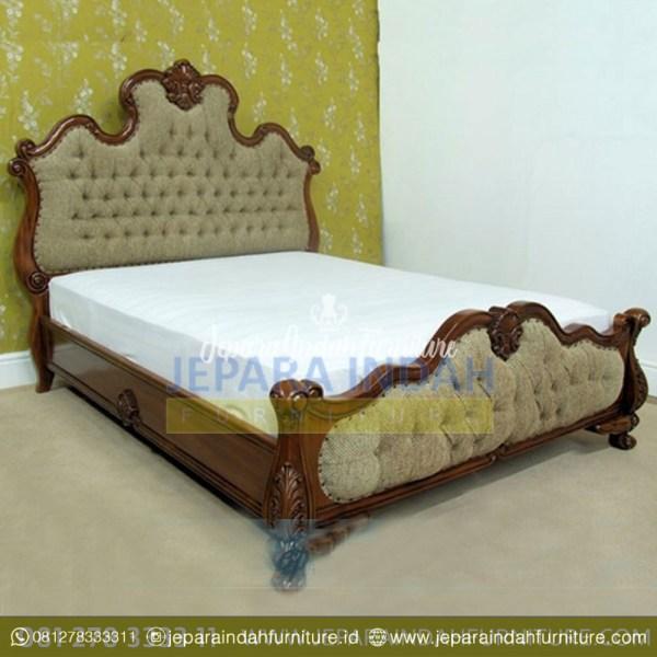 Dipan Tempat Tidur Jati Locust Antique