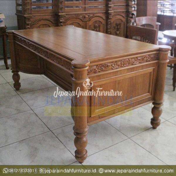 Meja Antik Jati Untuk Kantor Direktur
