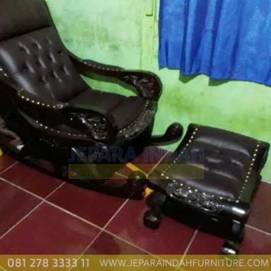 Jual kursi sofa malas kayu jati