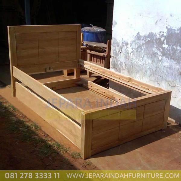 Jual Dipan Sorong Minimalis Kayu Jati