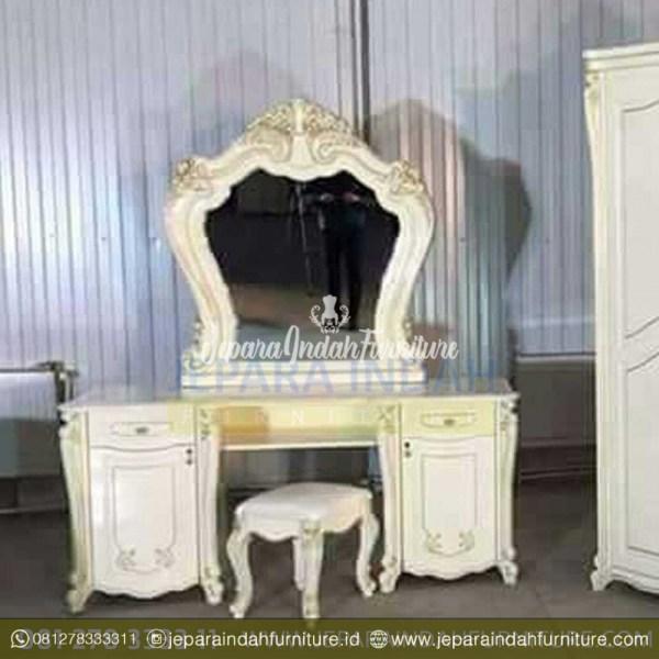 Jual Tempat Tidur Elegant Satu Set Ukiran Meja Rias