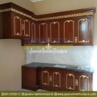 Pusat Jual Kitchen Set Jati Ukir Klasik