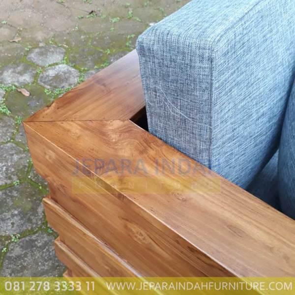 Harga Jual Sofa Jati Minimalis 2 Seater Berkualitas