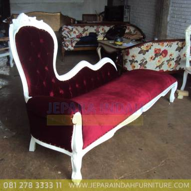 Harga Jual Sofa Living Princes Cat Duco Putih