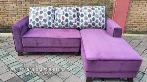 Sofa minimalis dan simple model sudut dan nyaman