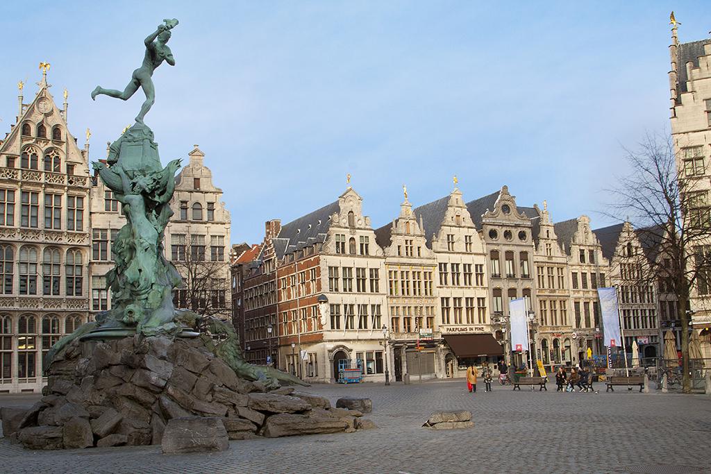 Anvers La Flamande aux diamants ternels  Je parsch l Le emagazine francophone des voyages