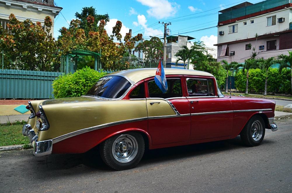 Voiture avec chauffeur Cuba  Je pars  Cuba