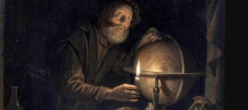 du géomètre à l'astronome planche