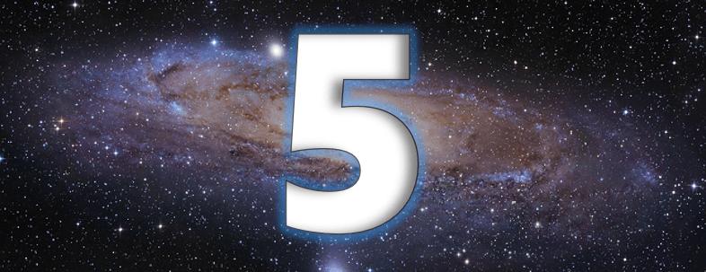 symbolisme du chiffre 5