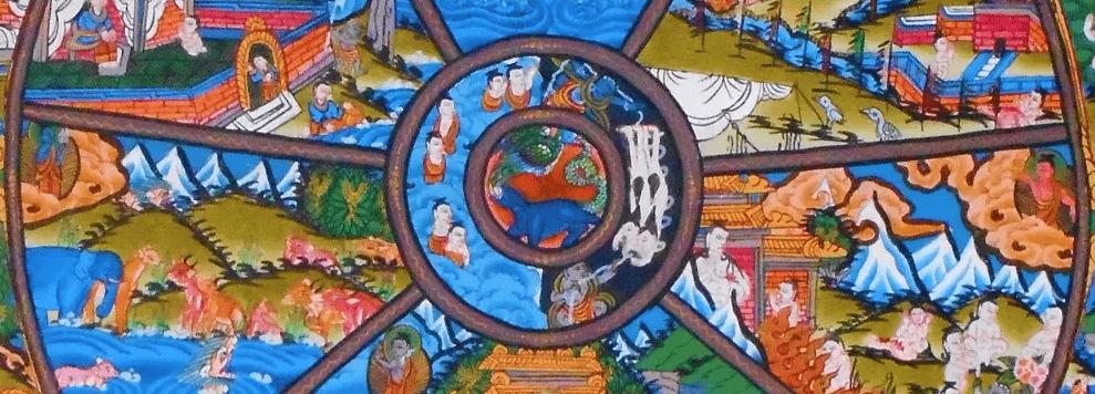 roue du karma ou roue des existences