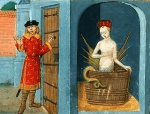reptiliens mélusine légende mythe