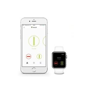 L'application Danalock sur iPhone et Android. Compatible apple Watch !