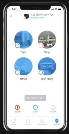 App AJAX - exemple de zones