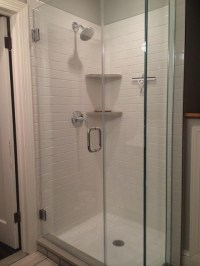 Kitchen Remodel: Shower Stall - Jack Edmondson Plumbing ...