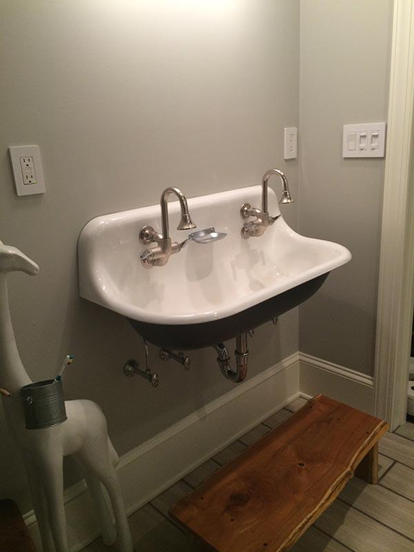 double kitchen sinks pantrys bathroom remodel: sink - jack edmondson plumbing ...