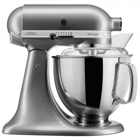 robot kitchenaid artisan gris argent 5ksm175psecu