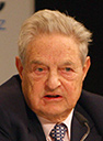 George Soros photo by Harald Dettenborn