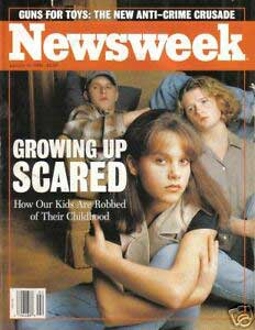 growing up scared