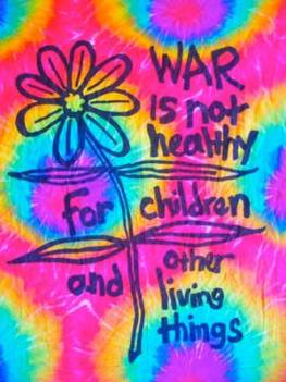 War is not healthy