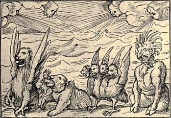 4 beasts of Daniel
