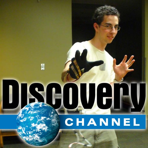 Jeremy Present the SudoGlove on the Discovery Channel!