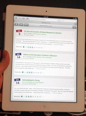 iPad Version