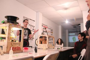 Personal Fabrication Workshop at the PopShop