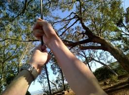Rope Swinging #throughglass