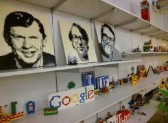 A Lego-themed microkitchen at Google NY