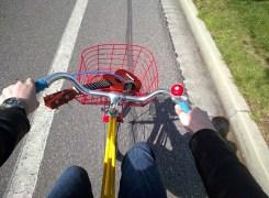 Biking #throughglass with my Uke