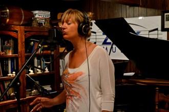 Vanessa Jordan in my recording studio