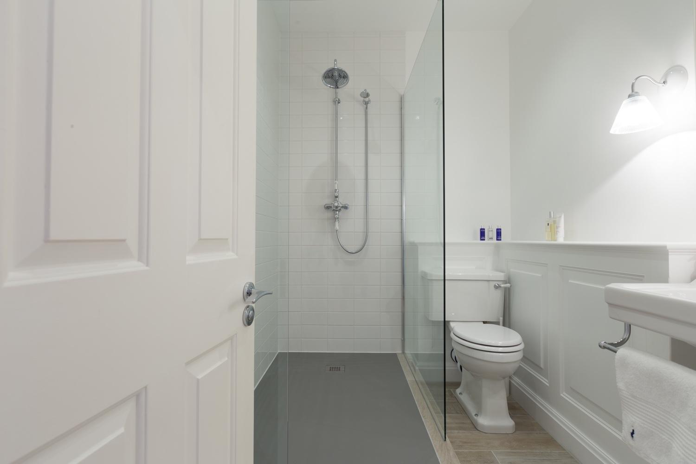 Classic White Wet Room Design  Installation  Jeremy