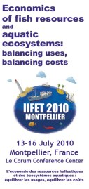 Conception du dépliant du colloque de l'IIFET (International Institute of Fisheries Economics and Trade) à Montpellier.