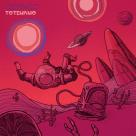 "Conception de la pochette de l'album ""Totemismo"" du groupe «Distingo»."